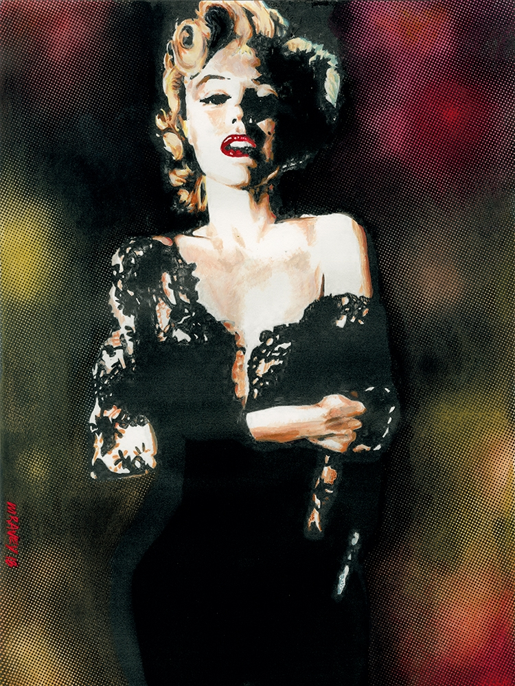 Marilyn Monroe by mravey